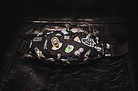Бананка Custom Wear Uno Rick and Morty Black 24*13*6 [58560-16]