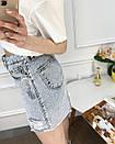0247-80 Arox спідниця жіноча блакитна сорочка (4 од. розміри: 34.36.38.40), фото 5