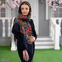 Українська народна шерстяна  хустина Квіти України!, фото 2