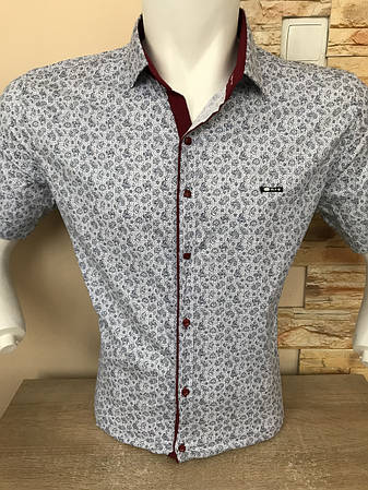 Молодіжна сорочка Paul Jack з принтом, фото 2