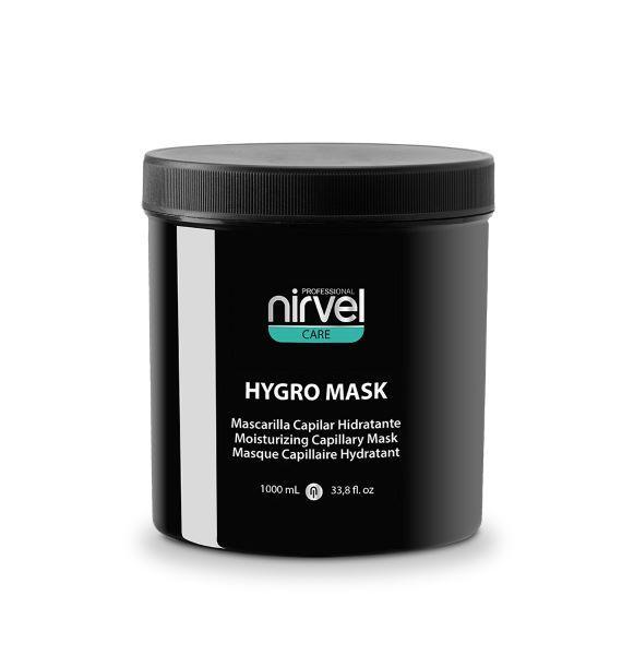 Капілярна зволожуюча маска для сухих і пошкоджених волосся Nirvel, 1000мл