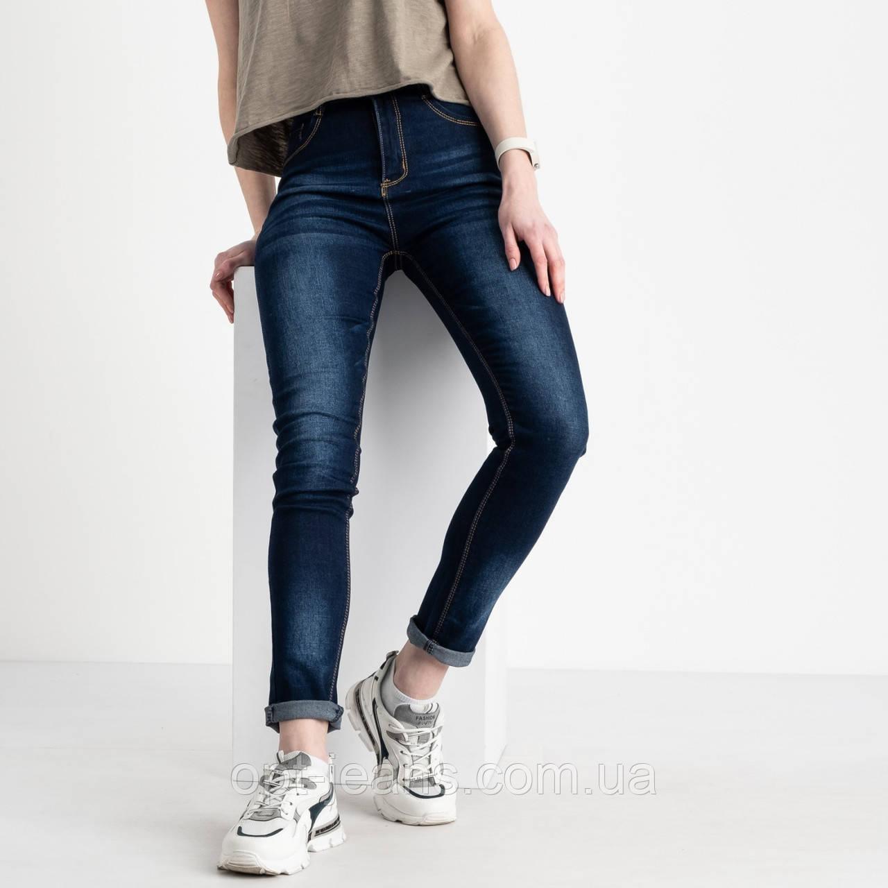 8002 Fashion джинси жіночі сині стрейчеві (6 од. розміри: 25.26.27.28.29.30)