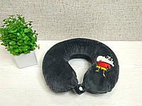 """Детская ортопедическая подушка-рогалик для путешествий с """"эффектом памяти"""""""