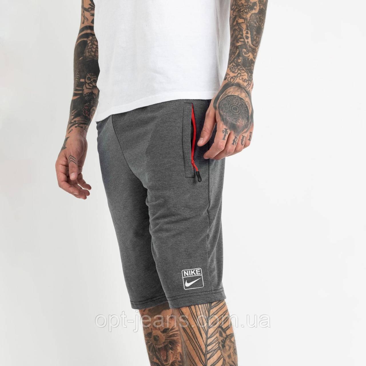 1106-6 серые спортивные шорты мужские (5 ед. размеры: 46.48.50.52.54)