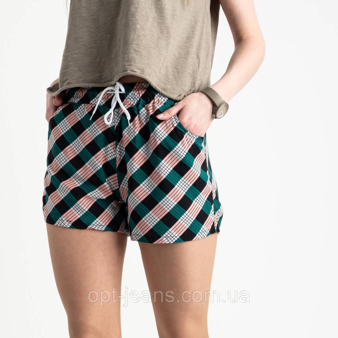 1538 Callin шорты женские разноцветные в полоску (12 ед. размеры: M/3.L/3.XL/3.2XL/3)