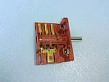 Переключатель для электродуховок АС 301 ( А ) клемы вниз производство Турция, фото 2