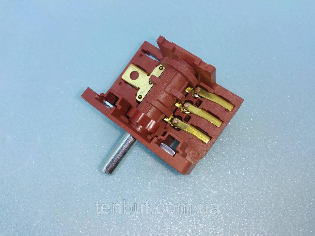 Переключатель для электродуховок АС 301 ( А ) клемы вниз производство Турция