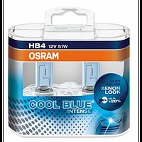 Автолампа HB4  галогеновая 51W Osram 9006 Cool Blue Intense 2 шт.