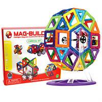 Детский магнитный конструктор Mag-Magnet на 48 детали