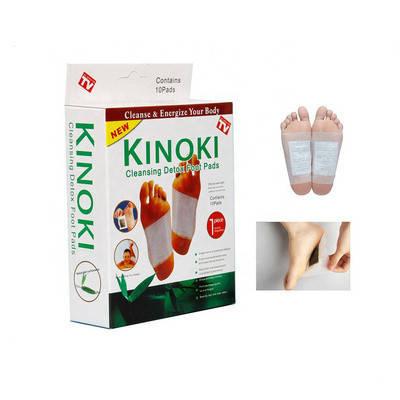 Пластырь детоксикационный для ног Kinoki 184487