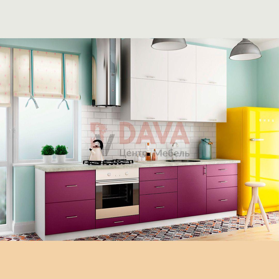 Кухня современного стиля Киевский Стандарт. Крашенные фасады МДФ. Набор 6
