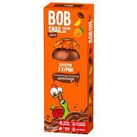 Bob Snail Конфеты BOB SNAIL Натуральные хурмы в бельгийском молочном шоколаде, 30г