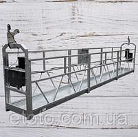 Подъемник фасадный, люлька строительная электрическая zlp 630