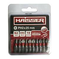 Набор бит Haisser PH2*25мм S2, 10шт. (2712701)