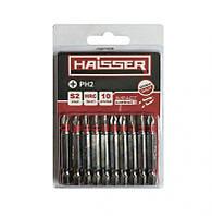 Набор бит Haisser PH2*70мм S2, 10шт. (2712705)
