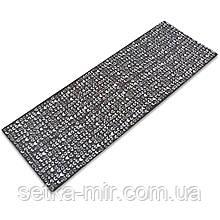 Коврик для йоги и фитнеса PVC двухслойный 4мм SP-Planeta CLOTH FI-0183 цвета в ассортименте, Черный