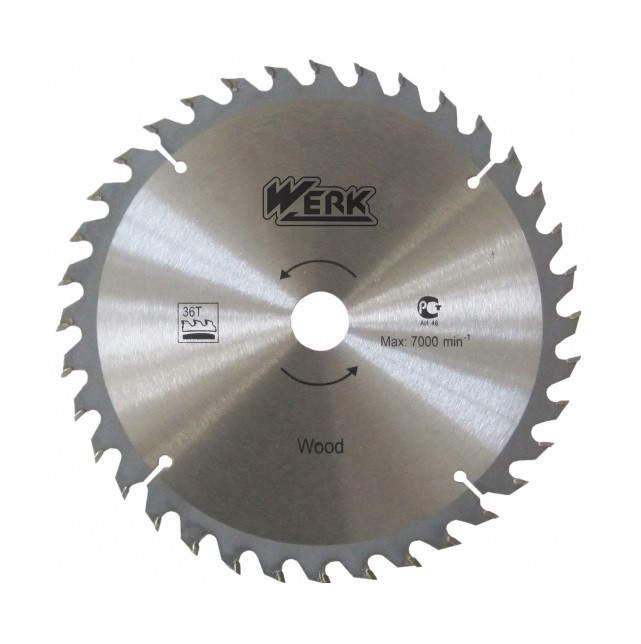 Пильний диск по дереву Werk (180*22,2*60Т)