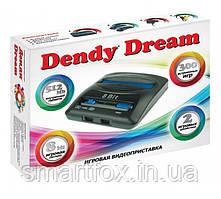 Игровая приставка 8-bit Dendy Dream+300игр