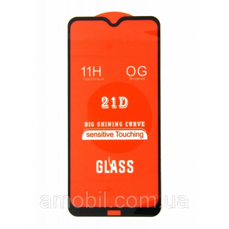 Захисне скло 21D Xiaomi Redmi 8 / 8A full glue black