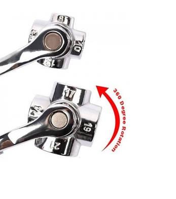 Ключ универсальный 48в1 Сталь, 8-19мм (48425), фото 2
