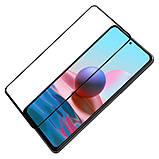 Защитное стекло Nillkin для Xiaomi Redmi Note 10 Pro/10 Pro Max (CP+PRO) Tempered Black с олеофобным покрытием, фото 4