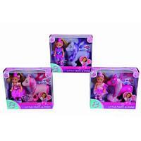 Кукла Еви  принцесса и пони Steffi Love в ассортименте 3 вида (573 8667)