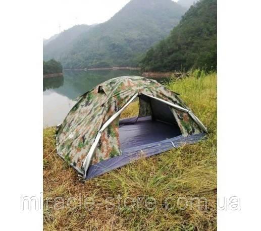 Палатка двухместная двухслойная LFO GJ-1867 Rip Stop Military