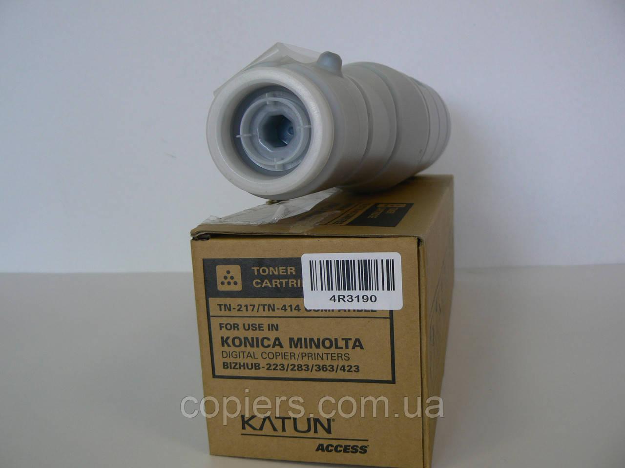 Тонер картридж TN217 tn414 Konica Minolta Bizhub 283/223 Katun, tn-217/414 47903