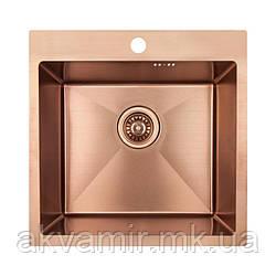 Мойка Imperial D5050BR PVD bronze 2.7/1 mm на/под столешницу (нерж. сталь)