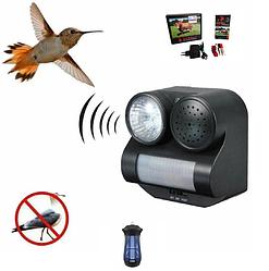 Отпугиватели птиц, животных, насекомых, электропастухи.