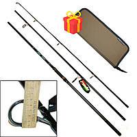 Спиннинг карповый Fishing ROI Dynamic Carp Rod 3.6 м. + поводочница World4Carp