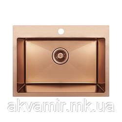 Мойка Imperial D5843BR PVD bronze Handmade 2.7/1 mm на или под столешницу (нерж. сталь)