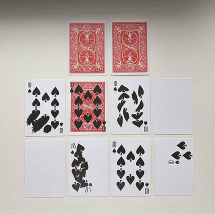 Реквизит для фокусов | Набор карт для фокусов (10шт), фото 2