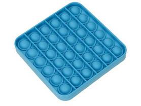 Антистрес сенсорна іграшка Pop It Блакитний Квадрат