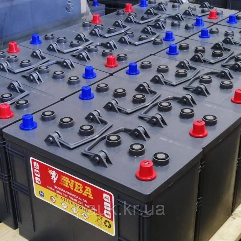 Гелевая аккумуляторная батарея ENERGY MONOBLOCK GEL 12V - 105AH, аккумулятор для поломоечной машины 4 GL 12 NH