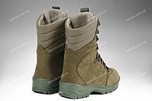Берці зимові / військова, армійське взуття OMEGA (olive), фото 3