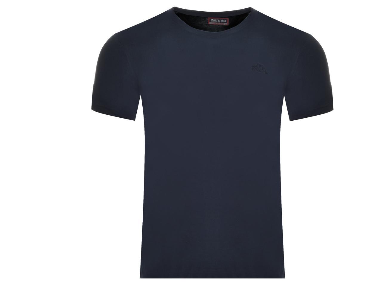 Футболка мужская Kappa синяя (304KZNO 821)