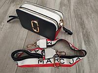 Сумка-Клатч женская через плечо Marc Jacobs Snapshot Camera Bag Cloud (копия)