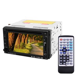 """Автомагнітола 2DIN Lux 261 HD Bluetooth з сенсорним екраном 6.1"""", TV тюнером, DVD і камерою заднього виду"""