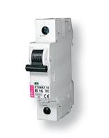 Автоматический выключатель ETIMAT 6  1p С 6А (6 kA), ETI, 2141512