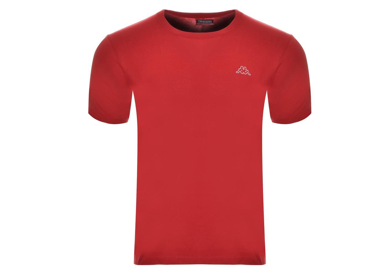 Футболка чоловіча Kappa червона (304KZNO A20)