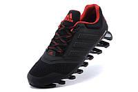 Чоловічі кросівки Adidas Springblade 2 black-red, фото 1