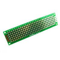 PCB 2x8 см двухсторонняя печатная плата, 102871