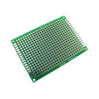 PCB 5x7 см двухсторонняя печатная плата, 102874