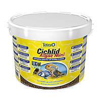 Сухой корм для аквариумных рыб Tetra в гранулах «Cichlid Algae Mini» 10 л (для всех цихлид)