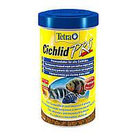 Сухой корм для аквариумных рыб Tetra в чипсах «Cichlid Pro» 500 л (для всех цихлид)