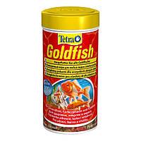 Сухой корм для аквариумных рыб Tetra в хлопьях «Goldfish» 250 л (для золотых рыбок)