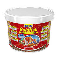 Сухой корм для аквариумных рыб Tetra в хлопьях «Goldfish» 10 л (для золотых рыбок)