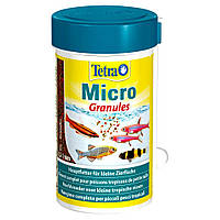 Сухой корм для мелких аквариумных рыб Tetra в гранулах «Micro Granules» 100 мл (для всех аквариумных рыб)