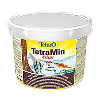 Сухой корм для аквариумных рыб Tetra в чипсах «TetraMin Pro Crisps» 10 л (для всех аквариумных рыб)